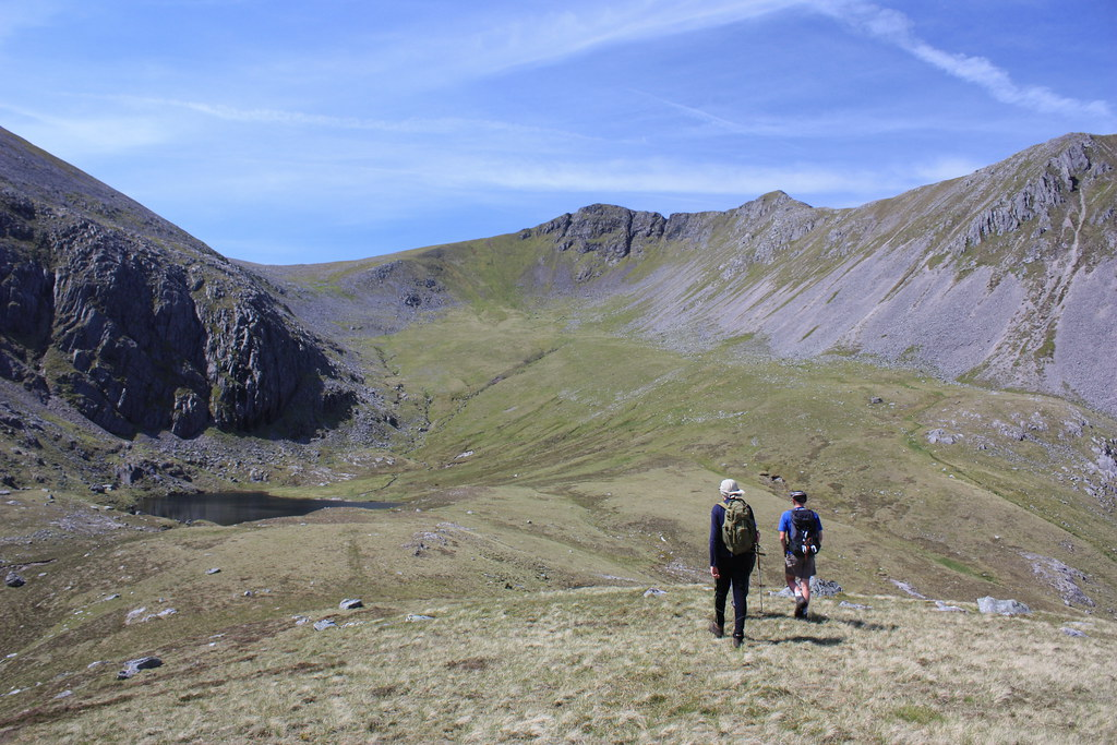 Walking into Coire Min