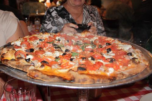 Pizza from Grimaldi's