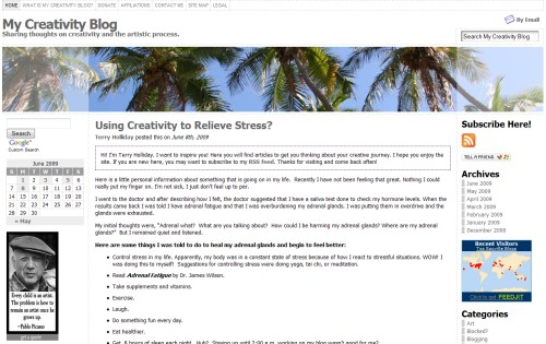 My Creativity Blog