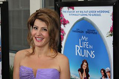 "Nia Vardalos at ""My Life In Ruins"" opening weekend"