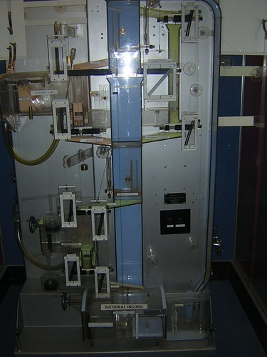 Phillips Hydraulic Computer