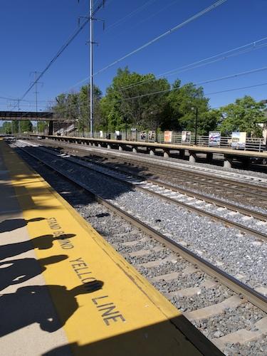 North Elizabeth Train Station