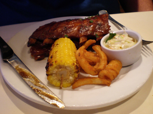Carnival Elation - Baby Back Ribs (Imagination Dining Room)