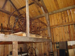 Great Wheels in the Spinning Barn