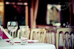 A tavola non si invecchia. (Pink Pixel Photography (f.k.a. Sunny)) Tags: glasses bokeh canonef50mmf18 leckeressen hbw canoneos400d thefoodwasyummy atacompanyparty freshgrilledfishandstuff wwwpinkpixelat