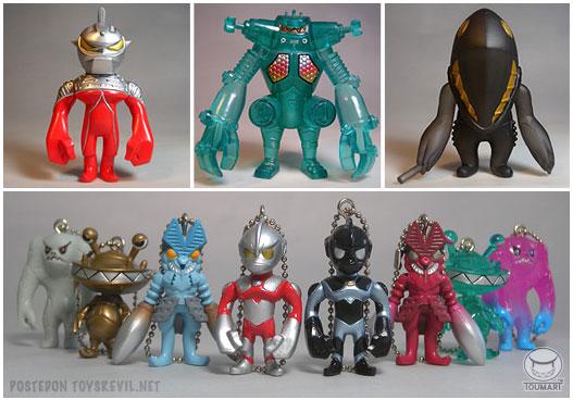 Ultraman Seven Capsule Toys by TOUMA x Bandai