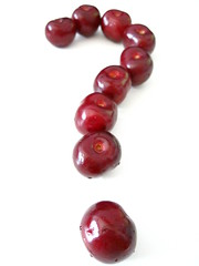 The question of the cherries (SwEeTcHy) Tags: summer luz cherries drop question verano gota answer nops cerezas cerises pregunta respuesta