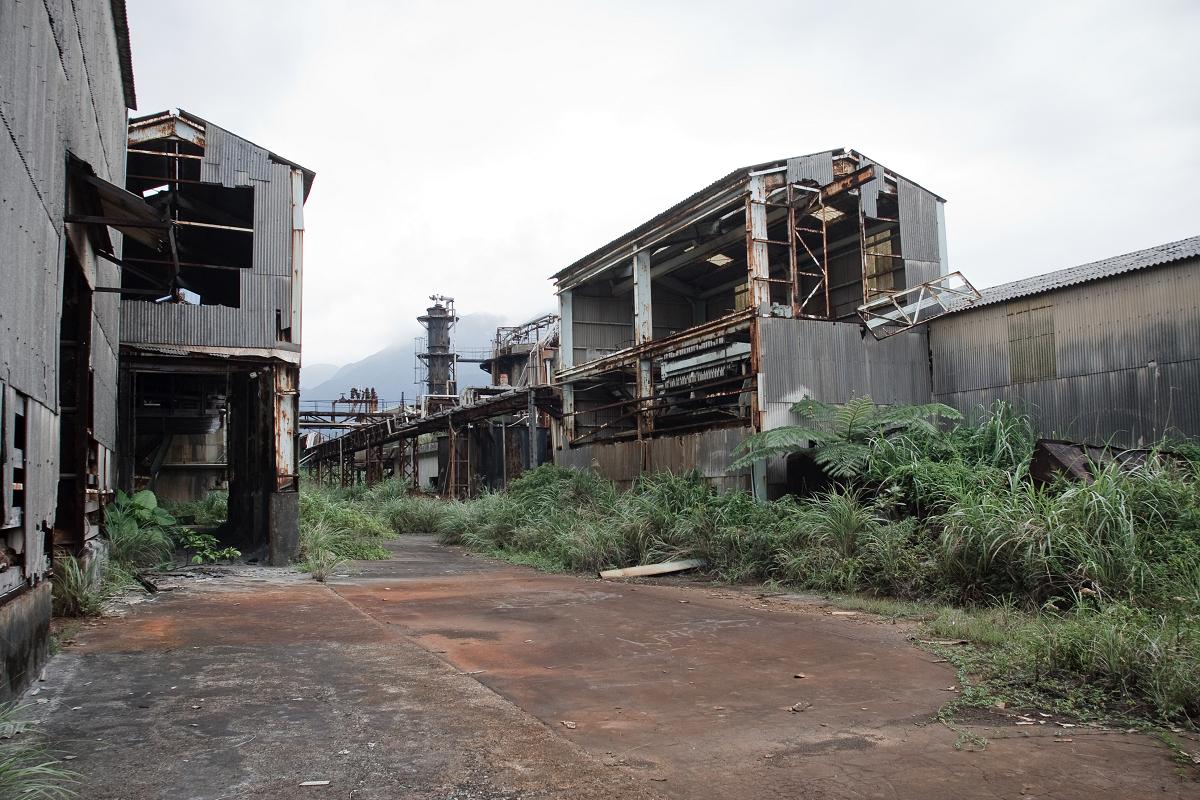 荒廢的工廠