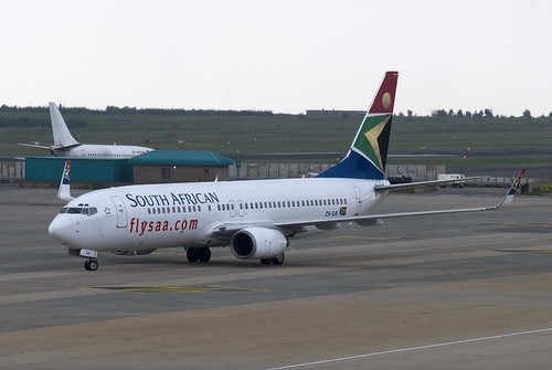 South African 737-800WL ZS-SJE