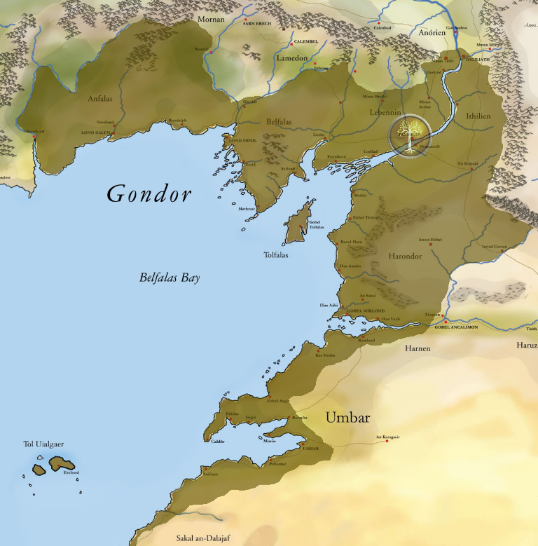 Kingdom of Gondor Southern Gondor DS