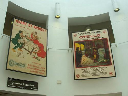 Cinema Ritrovato, Bologna, Pathe posters