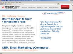 Infusionsoft.com - July 2009