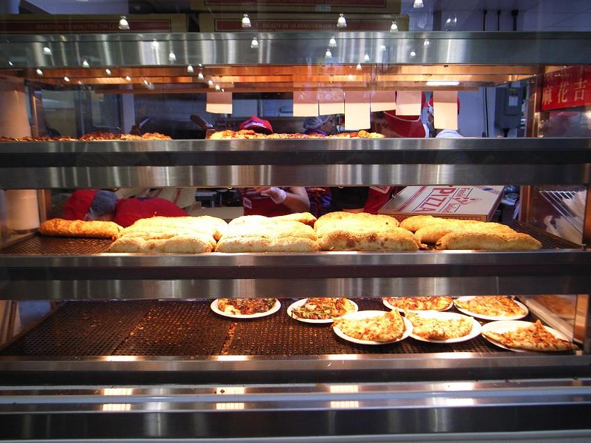 20090711_新竹蔻絲扣熱食區櫥窗