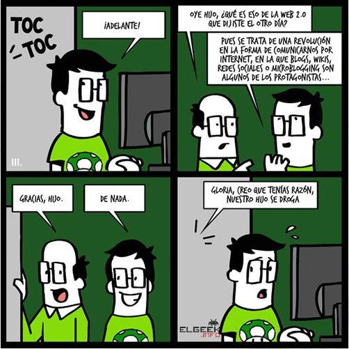 Padres, Geek, Humor geek, Friki