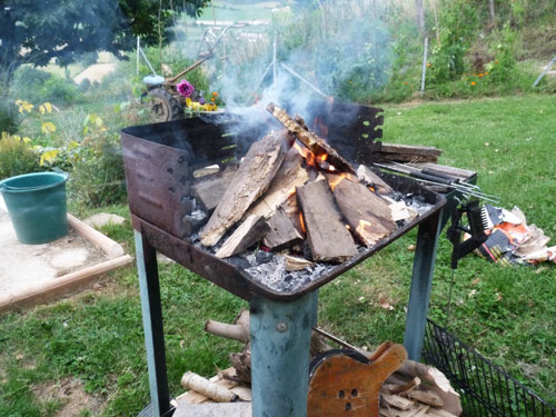 Quant little French barbecue