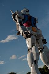 Gundam! (Astrochuppa) Tags: japan tokyo nikon odaiba gunam d700