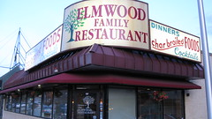 The Elmwood Family Restaurant. Elmwood Park Illinois. July 2009.