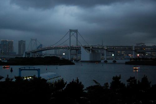 Odaiba: Tokyo Bay at dusk