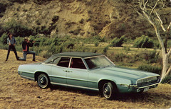 1969 Ford Thunderbird 4 Door Landau (coconv) Tags: auto door old classic cars ford hardtop 1969 car vintage photo automobile doors post antique postcard 4 ad suicide picture automotive literature card collectible 69 collectors brochure thunderbird coupe advertisment landau automobilia