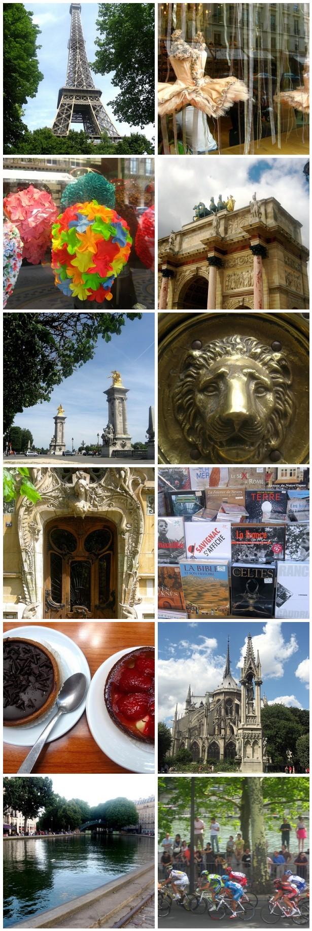 parisian landmarks