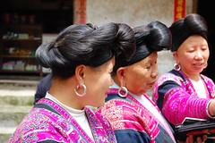 long hair (marin.tomic) Tags: china travel hair asian nikon asia guilin traditional chinese longhair tradition tribe ethnic yao guangxi longsheng d40
