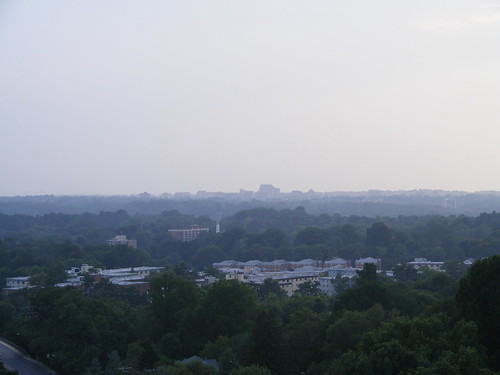 Looking West Towards Bethesda (Summit Hills In Foreground)