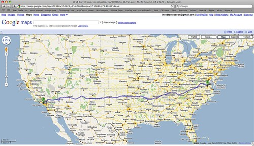 Google Maps Road Trip