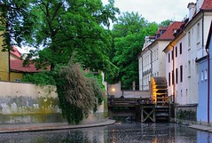 Myn, Water Mill (kalifornia7777) Tags: prague praha praga watermill ceskarepublika widok czechy myn vanagram