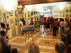 Art Exhibition at Ollioules in France Provence #2