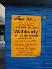 Einladung JU Wahlparty