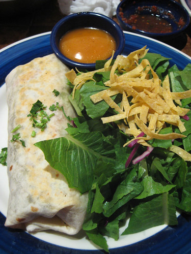 Build Your Own Vegan Burrito at 'On The Border'