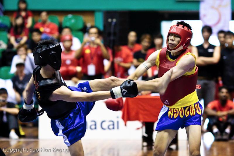 Wushu Performance (boxing) @ KL, Malaysia