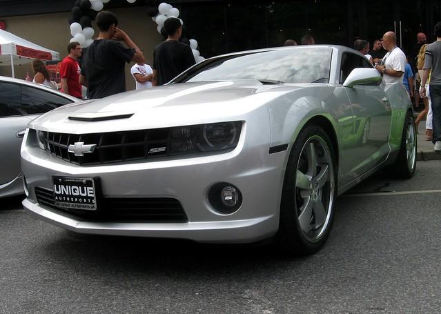 auto show chevrolet car silver gold coast ss camaro 2009 martino dynamics extravaganza concepts detailing