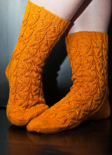 Sunshine Socks - FINISHED