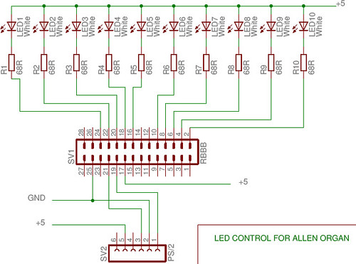 LED control schematic