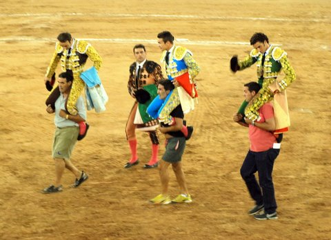 Corrida de Toros Feria Melilla 2009 374