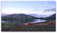 one chilled morning at sheosar lake (TARIQ HAMEED SULEMANI) Tags: tourism trekking jeep hiking laila tariq jeepsafari deosai sheosarlake abigfave concordians sulemani barapanibridge