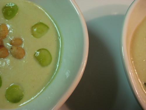 grape and marcona almond gazpacho