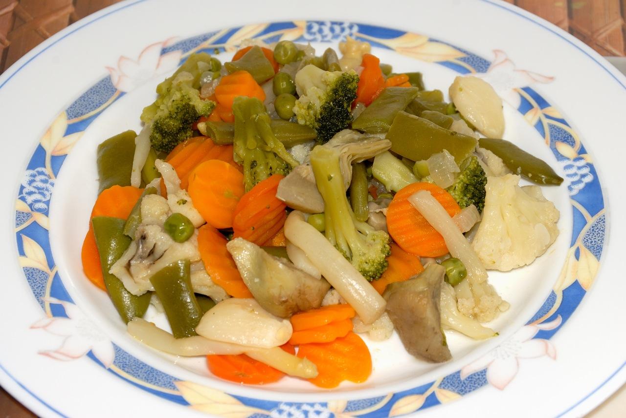 Menestra de verduras fussioncook