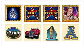 free Fame and Fortune slot game symbols