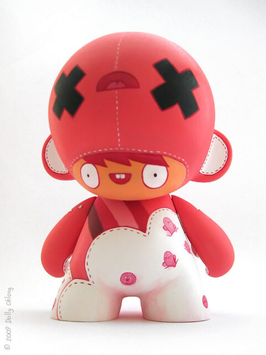 Custom Munny Loulou par Dolly Oblong