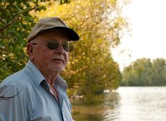 On the lake (sshermanphoto.com) Tags: old travel family vacation man guy montana visit grandpa flatheadlake polson سكس nikond300