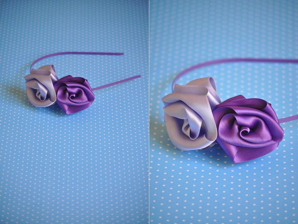 Headband Purple 03