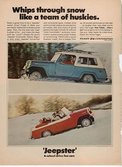 Jeep Jeepster (Hugo90-) Tags: advertising jeep ad kaiser jeepster
