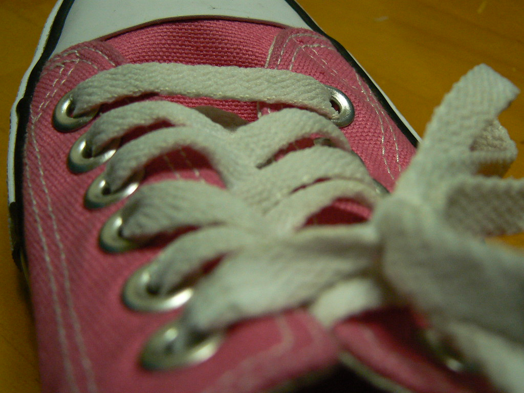 Pink (Beckywithasmile) Tags  pink white japan hokkaido september converse  abc p laces pinkshoes 8e77b29d6160