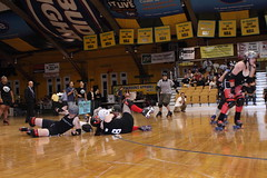 Albany All Stars149 (chimpmitten) Tags: rollerderby albany albanyny albanyallstars