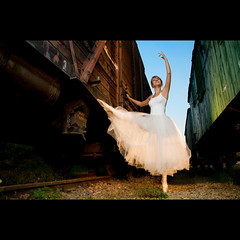 (Marcin Sowa) Tags: light ballet station train project iso200 dance nikon ballerina flash dancer images explore getty flashlight f56 filters krakw cracow speedlight gettyimages strobe cls cto balet resco explored krakoff strobist strobists 18105mm sb900 danceproject ninkkor ex580ii