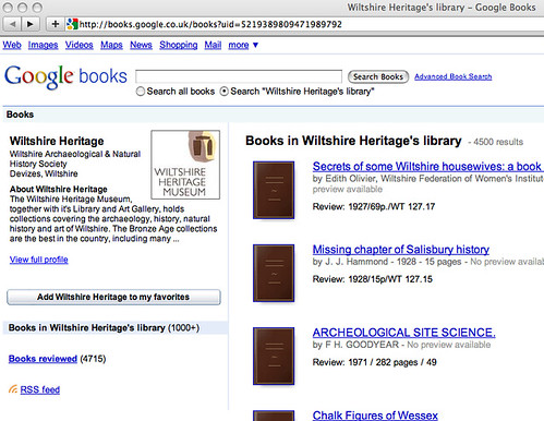 Wiltshite Heritage library on Google books http://books.google.co.uk/books?uid=5219389809471989792