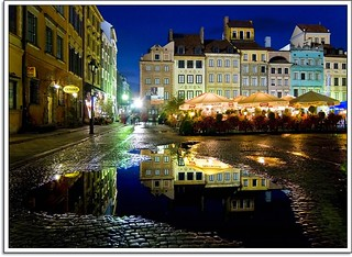 A Night of Reflection in Warsaw