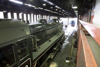 In the Workshop North Yorks Moors Railway
